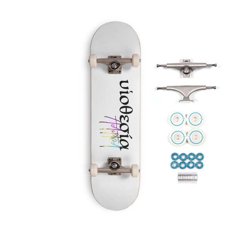 Huiothesia - Adopted (White) Accessories Complete - Basic Skateboard by XXXIII Apparel