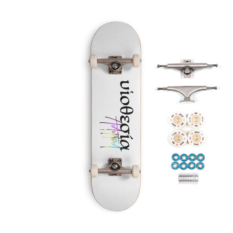 Huiothesia - Adopted (White) Accessories Complete - Premium Skateboard by XXXIII Apparel