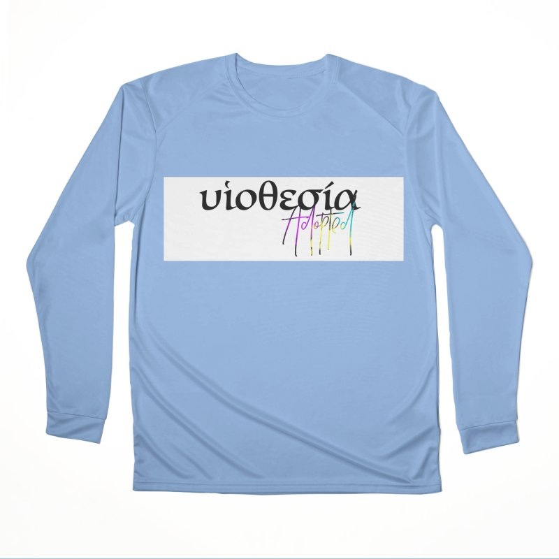Huiothesia - Adopted (White) Men's Performance Longsleeve T-Shirt by XXXIII Apparel