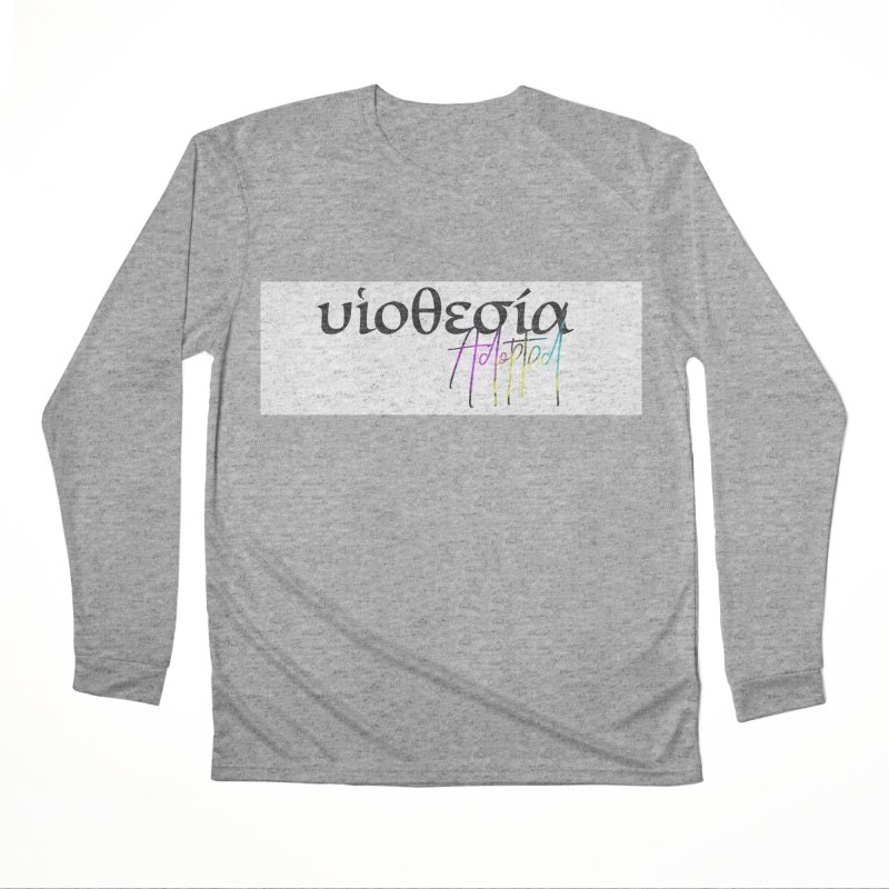 Huiothesia - Adopted (White) Women's Performance Unisex Longsleeve T-Shirt by XXXIII Apparel
