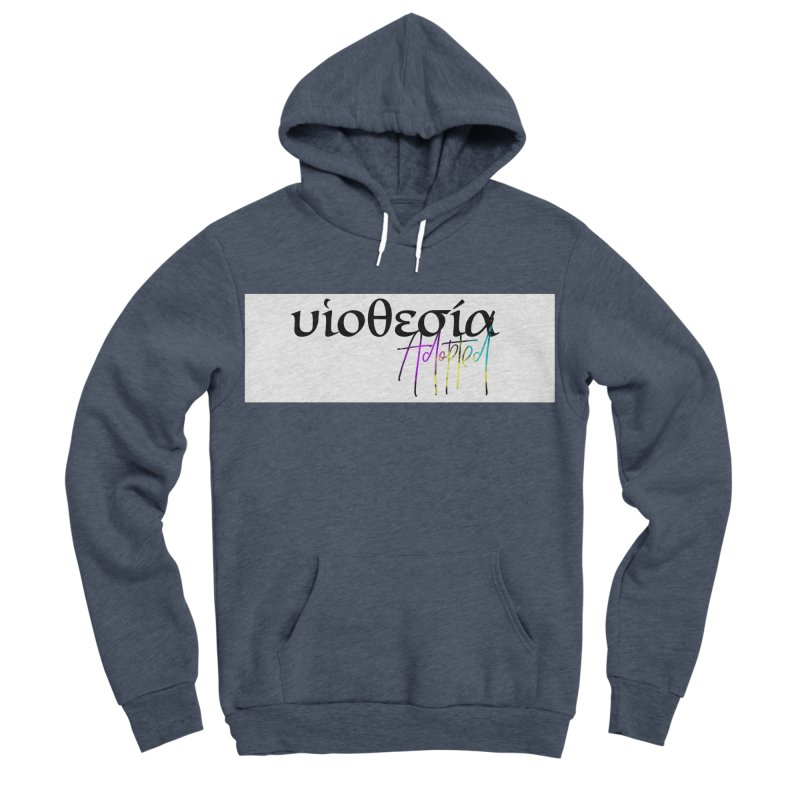 Huiothesia - Adopted (White) Women's Sponge Fleece Pullover Hoody by XXXIII Apparel