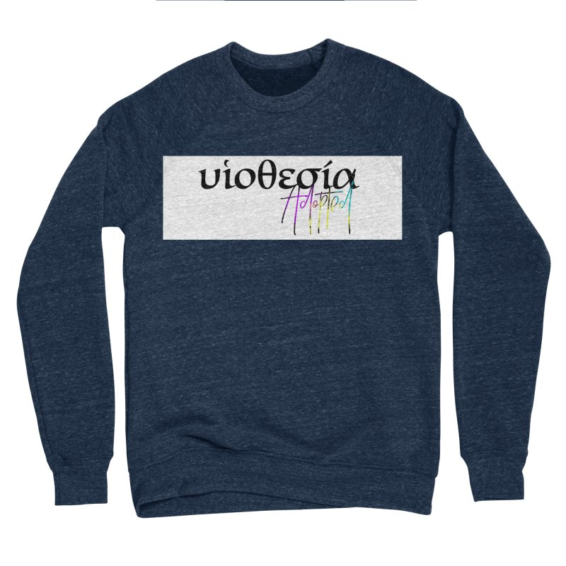 Huiothesia - Adopted (White) Men's Sponge Fleece Sweatshirt by XXXIII Apparel