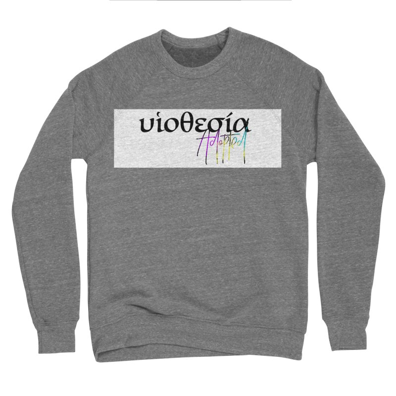 Huiothesia - Adopted (White) Women's Sponge Fleece Sweatshirt by XXXIII Apparel