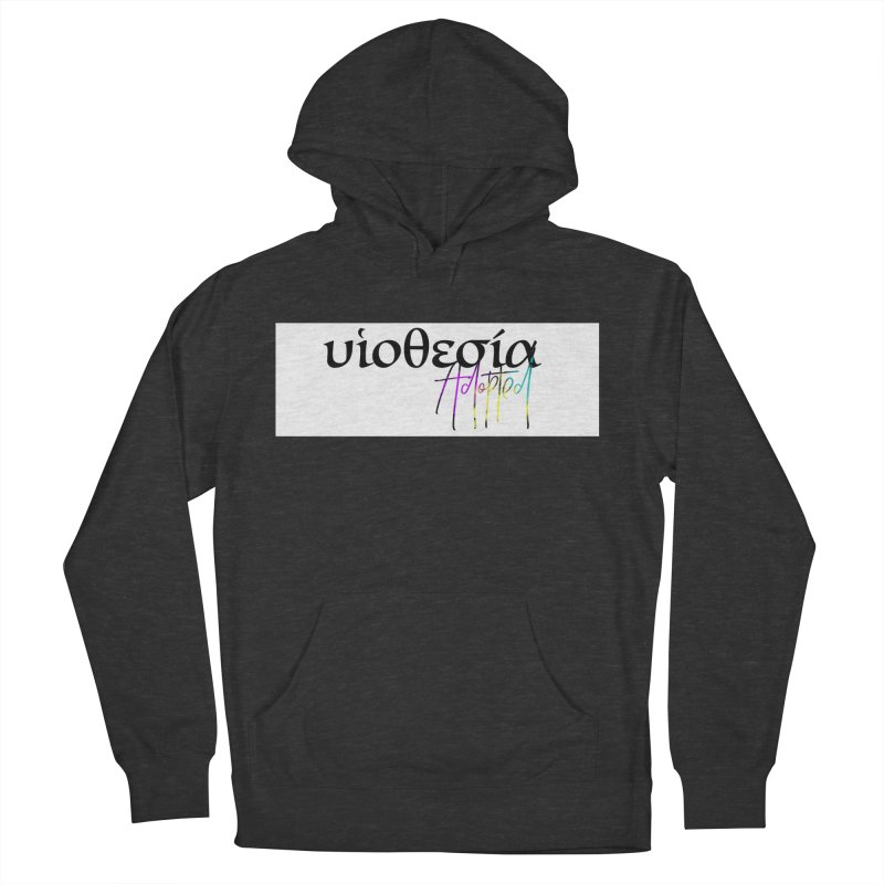 Huiothesia - Adopted (White) Women's French Terry Pullover Hoody by XXXIII Apparel