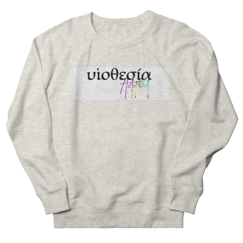 Huiothesia - Adopted (White) Men's French Terry Sweatshirt by XXXIII Apparel