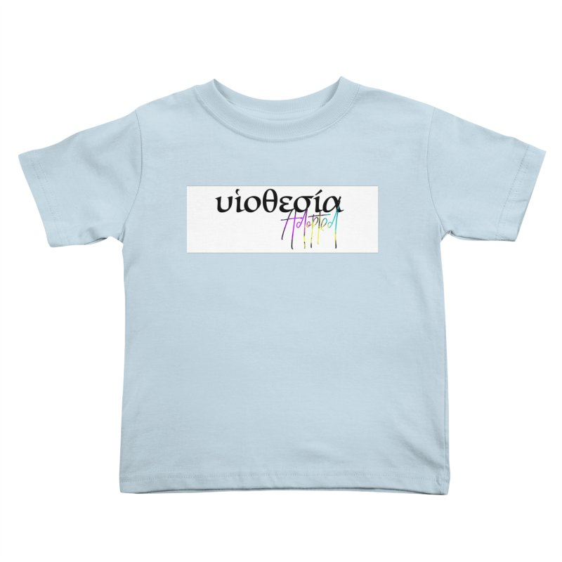 Huiothesia - Adopted (White) Kids Toddler T-Shirt by XXXIII Apparel