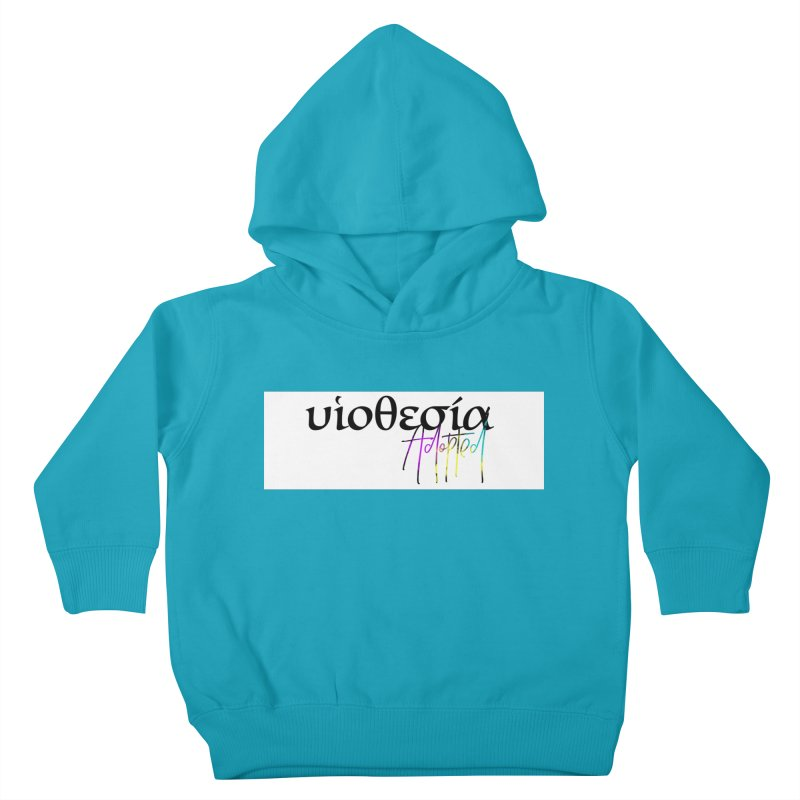 Huiothesia - Adopted (White) Kids Toddler Pullover Hoody by XXXIII Apparel