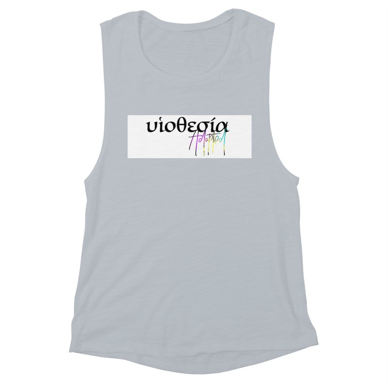 Huiothesia - Adopted (White) Women's Muscle Tank by XXXIII Apparel