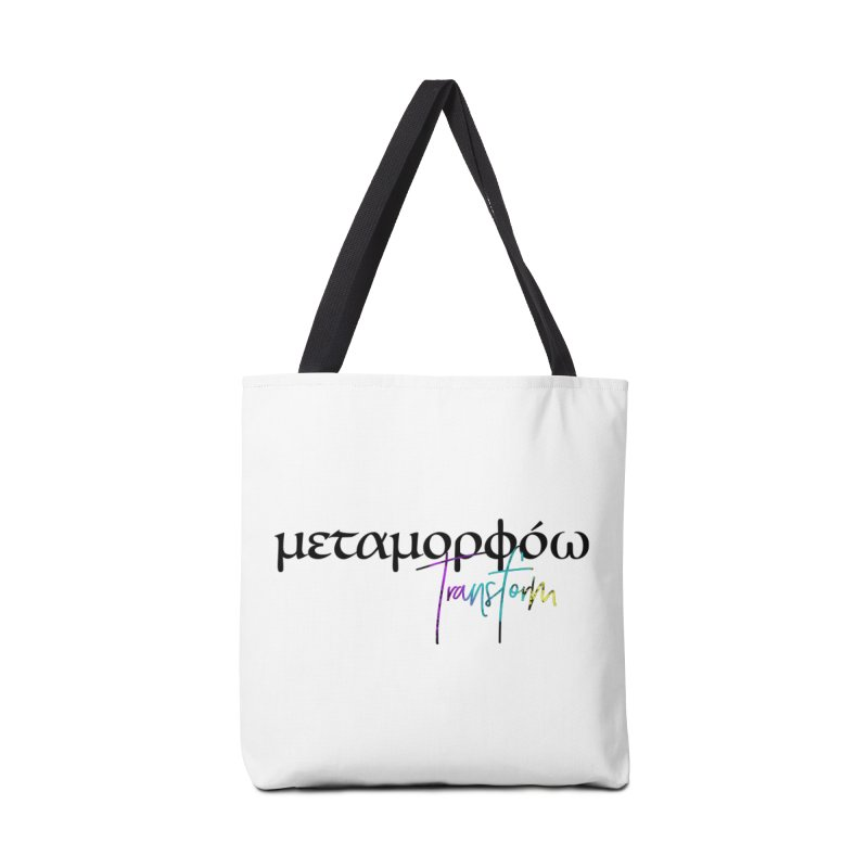 Metamorphoo - Transform Accessories Tote Bag Bag by XXXIII Apparel