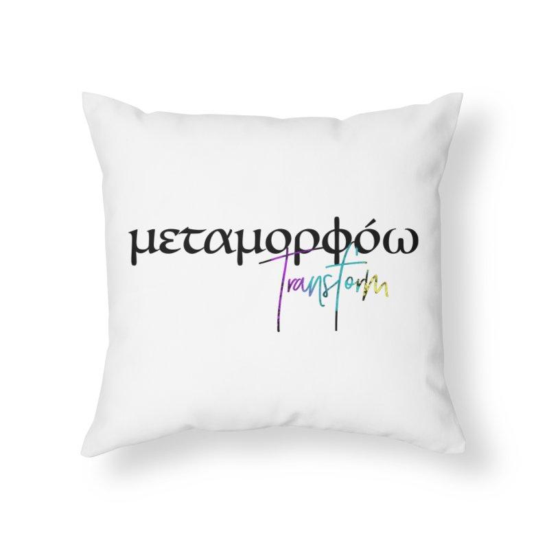 Metamorphoo - Transform Home Throw Pillow by XXXIII Apparel