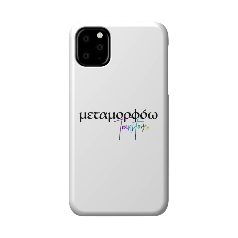 Metamorphoo - Transform Accessories Phone Case by XXXIII Apparel