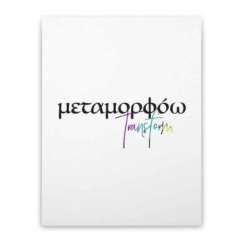 Metamorphoo - Transform Home Stretched Canvas by XXXIII Apparel