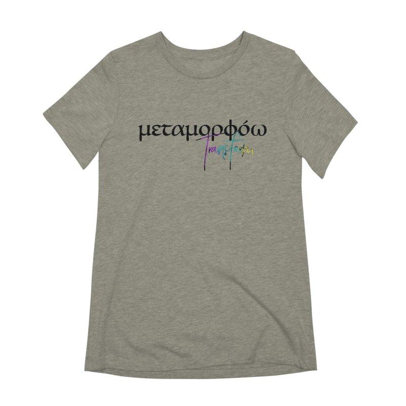 Metamorphoo - Transform Women's Extra Soft T-Shirt by XXXIII Apparel