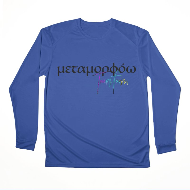 Metamorphoo - Transform Men's Performance Longsleeve T-Shirt by XXXIII Apparel