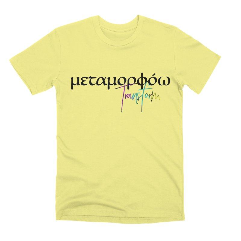 Metamorphoo - Transform Men's Premium T-Shirt by XXXIII Apparel