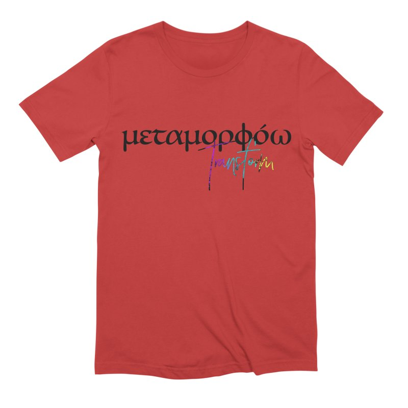Metamorphoo - Transform Men's Extra Soft T-Shirt by XXXIII Apparel