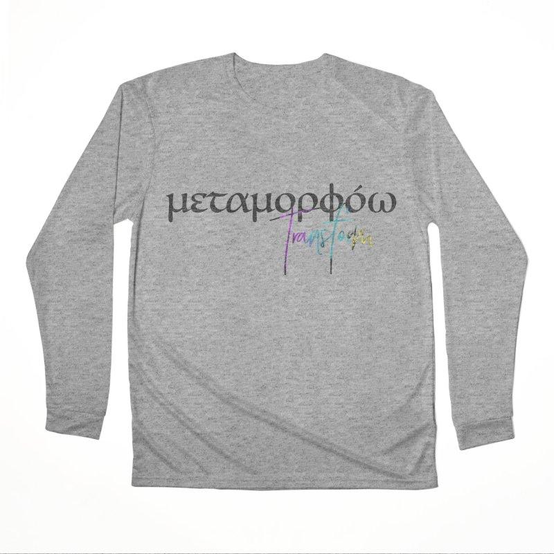 Metamorphoo - Transform Men's Performance Longsleeve T-Shirt by XXXIII Apparel