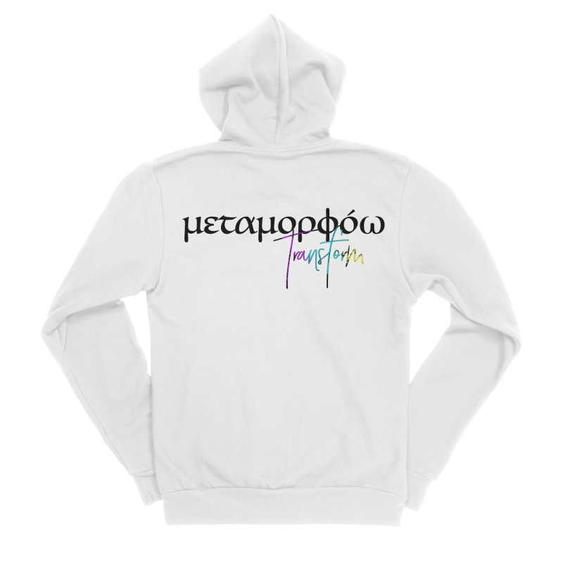 Metamorphoo - Transform Women's Sponge Fleece Zip-Up Hoody by XXXIII Apparel