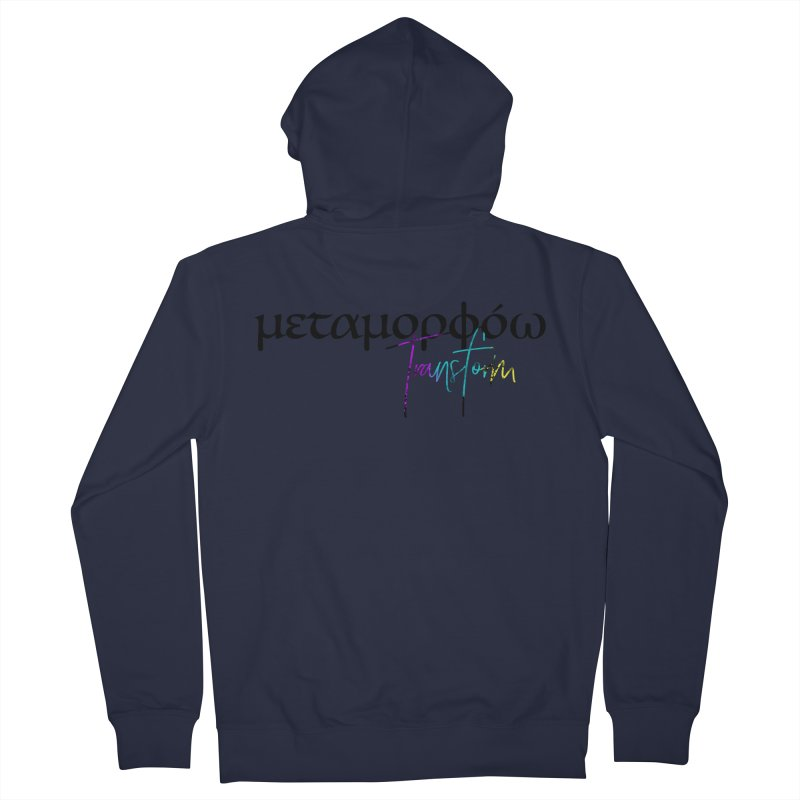 Metamorphoo - Transform Women's French Terry Zip-Up Hoody by XXXIII Apparel
