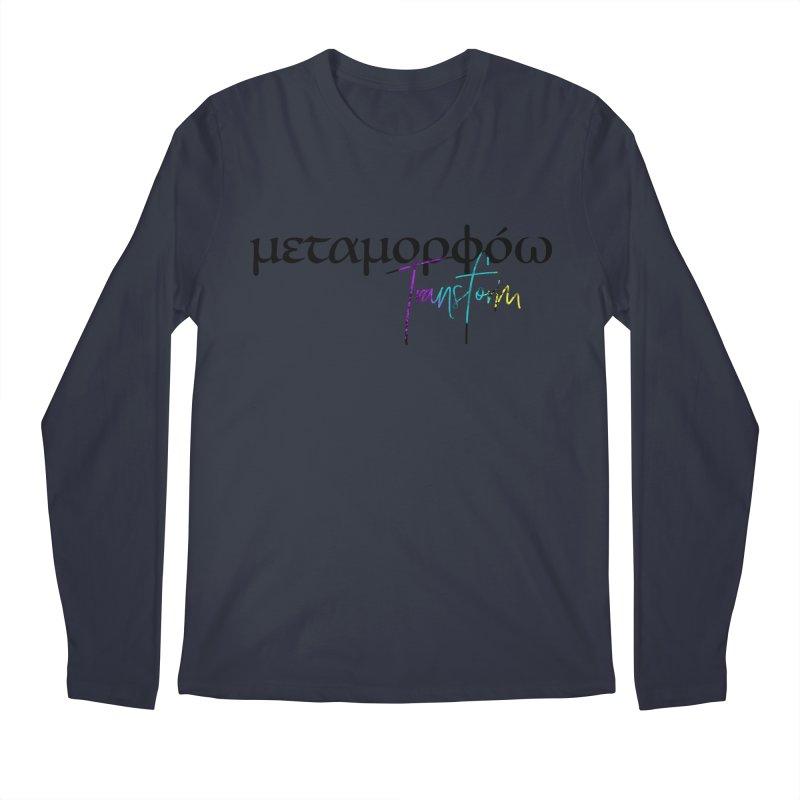Metamorphoo - Transform Men's Regular Longsleeve T-Shirt by XXXIII Apparel