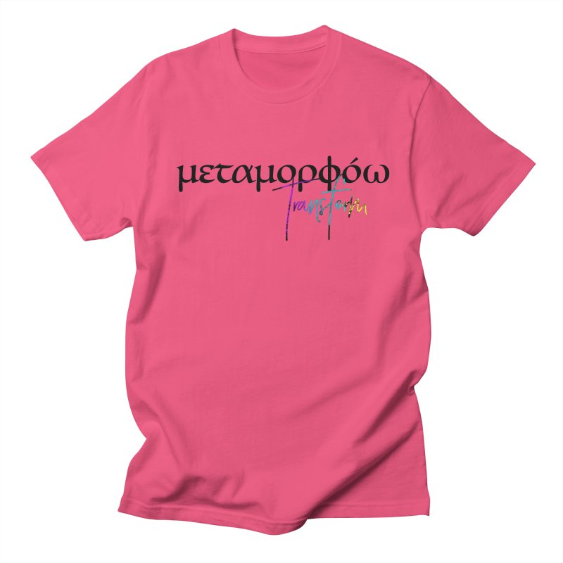 Metamorphoo - Transform Women's Regular Unisex T-Shirt by XXXIII Apparel