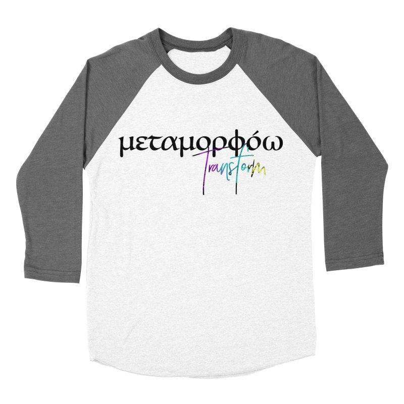 Metamorphoo - Transform Women's Baseball Triblend Longsleeve T-Shirt by XXXIII Apparel