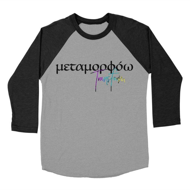Metamorphoo - Transform Men's Baseball Triblend Longsleeve T-Shirt by XXXIII Apparel
