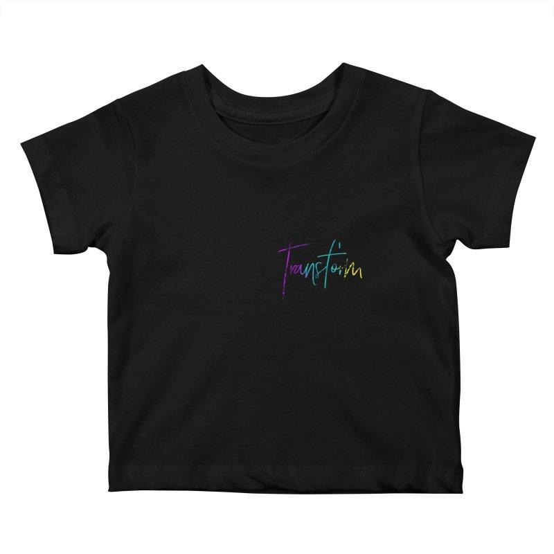Metamorphoo - Transform Kids Baby T-Shirt by XXXIII Apparel
