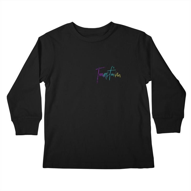 Metamorphoo - Transform Kids Longsleeve T-Shirt by XXXIII Apparel