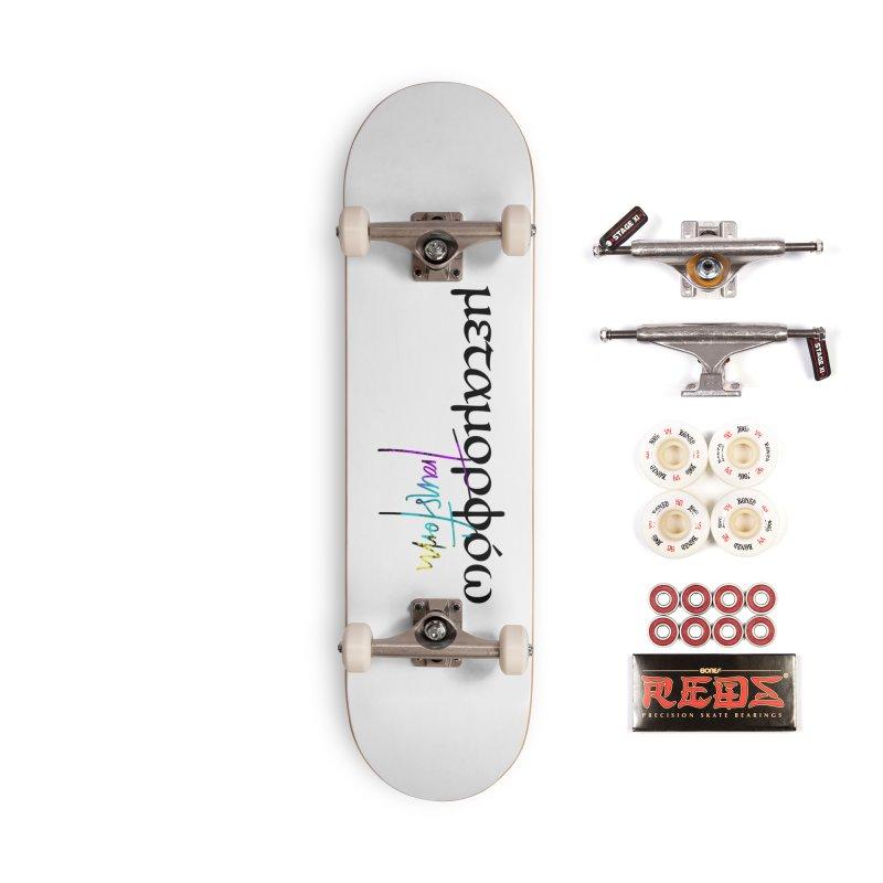 Metamorphoo - Transform (White) Accessories Complete - Pro Skateboard by XXXIII Apparel