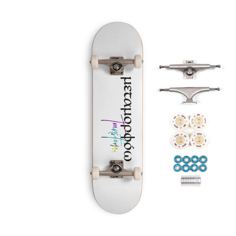 Metamorphoo - Transform (White) Accessories Complete - Premium Skateboard by XXXIII Apparel