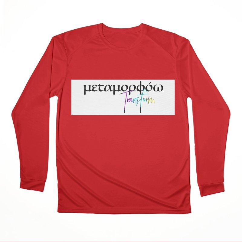 Metamorphoo - Transform (White) Women's Performance Unisex Longsleeve T-Shirt by XXXIII Apparel