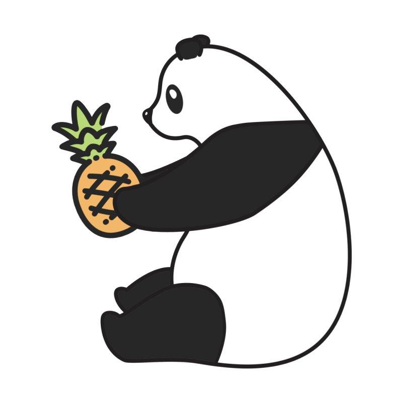 Bear Fruit - Pineapple Panda Accessories Mug by XXXIII Apparel