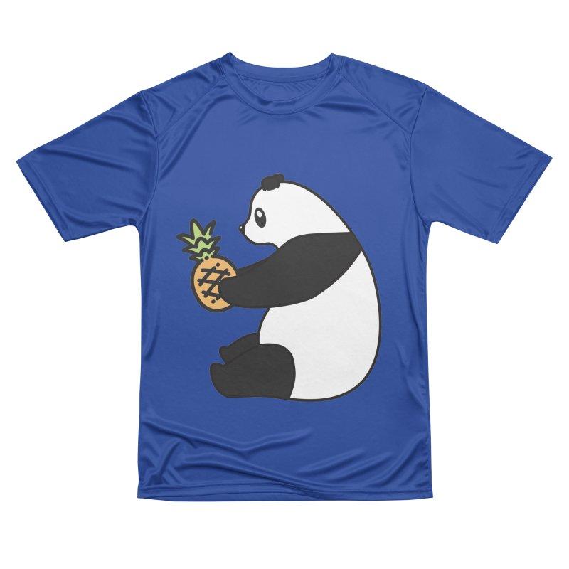 Bear Fruit - Pineapple Panda Men's Performance T-Shirt by XXXIII Apparel