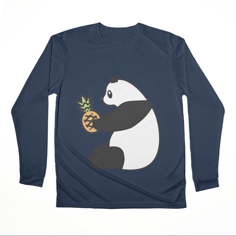 Bear Fruit - Pineapple Panda Men's Performance Longsleeve T-Shirt by XXXIII Apparel