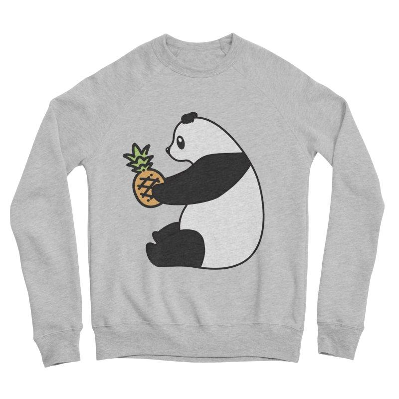 Bear Fruit - Pineapple Panda Men's Sponge Fleece Sweatshirt by XXXIII Apparel