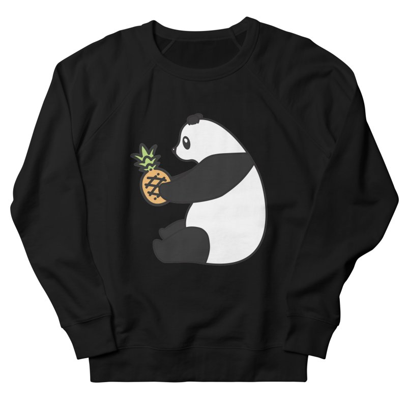 Bear Fruit - Pineapple Panda Women's French Terry Sweatshirt by XXXIII Apparel