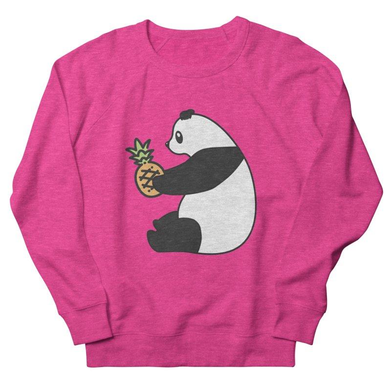 Bear Fruit - Pineapple Panda Men's French Terry Sweatshirt by XXXIII Apparel