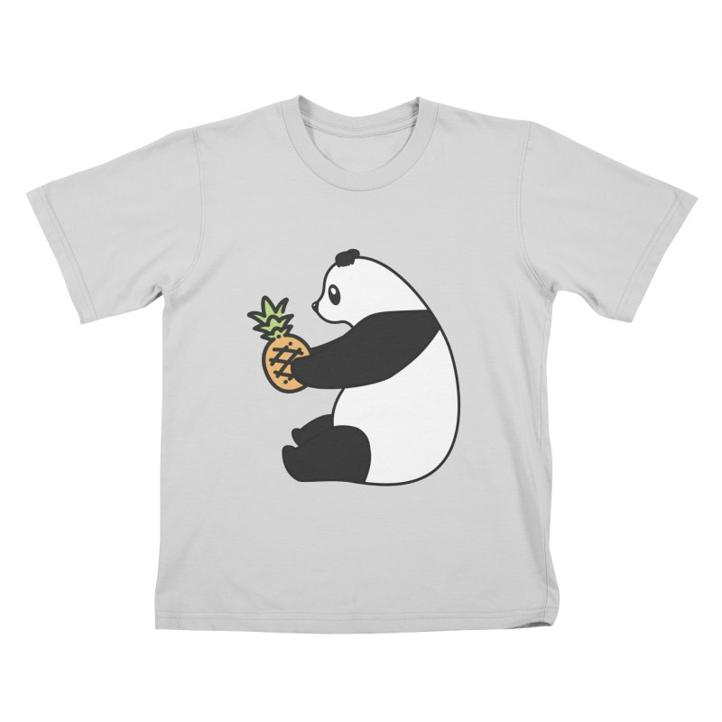 Bear Fruit - Pineapple Panda Kids T-Shirt by XXXIII Apparel
