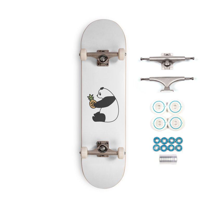 Bear Fruit - Pineapple Panda Accessories Complete - Basic Skateboard by XXXIII Apparel