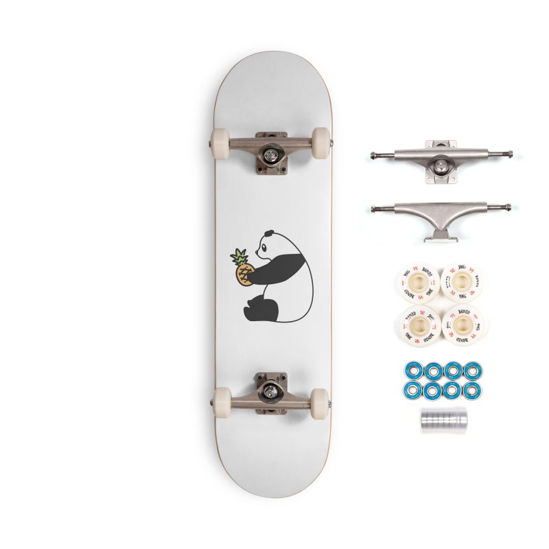 Bear Fruit - Pineapple Panda Accessories Complete - Premium Skateboard by XXXIII Apparel