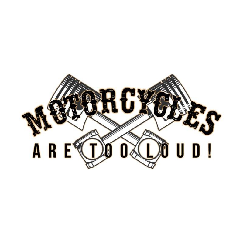 Motorcycles are too loud! Men's Zip-Up Hoody by XXXIII Apparel
