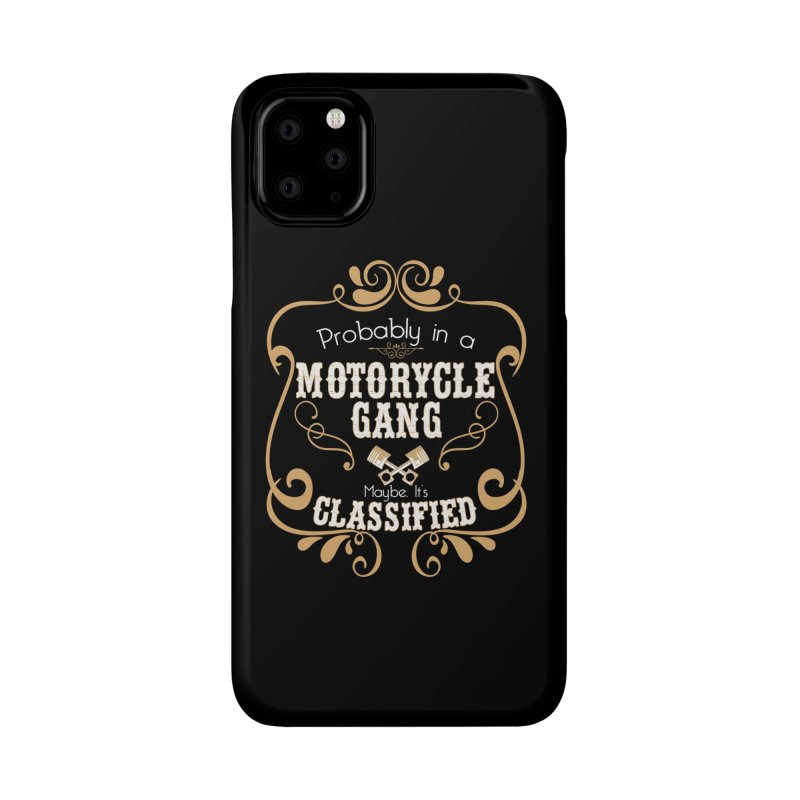 Motorcycle Gang Accessories Phone Case by XXXIII Apparel
