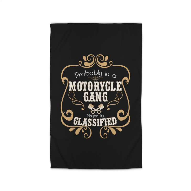 Motorcycle Gang Home Rug by XXXIII Apparel