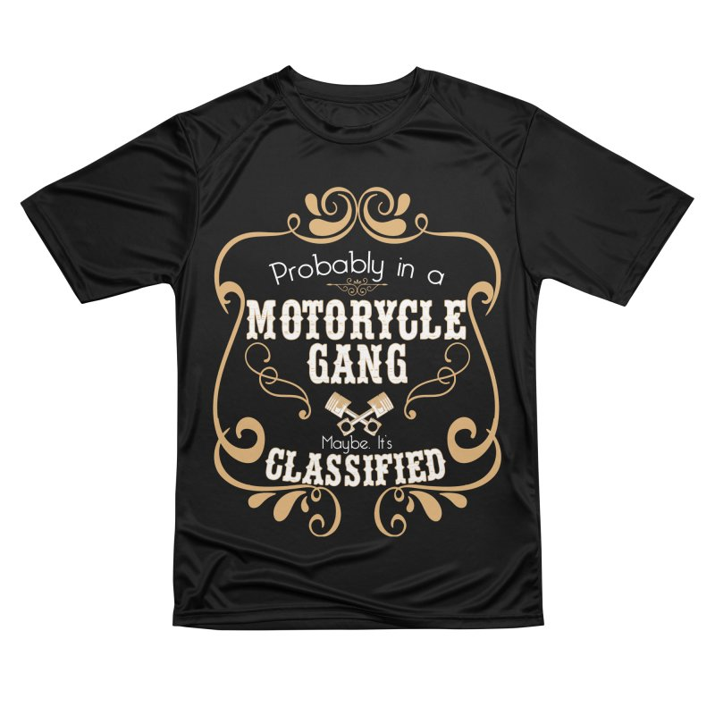 Motorcycle Gang Women's Performance Unisex T-Shirt by XXXIII Apparel