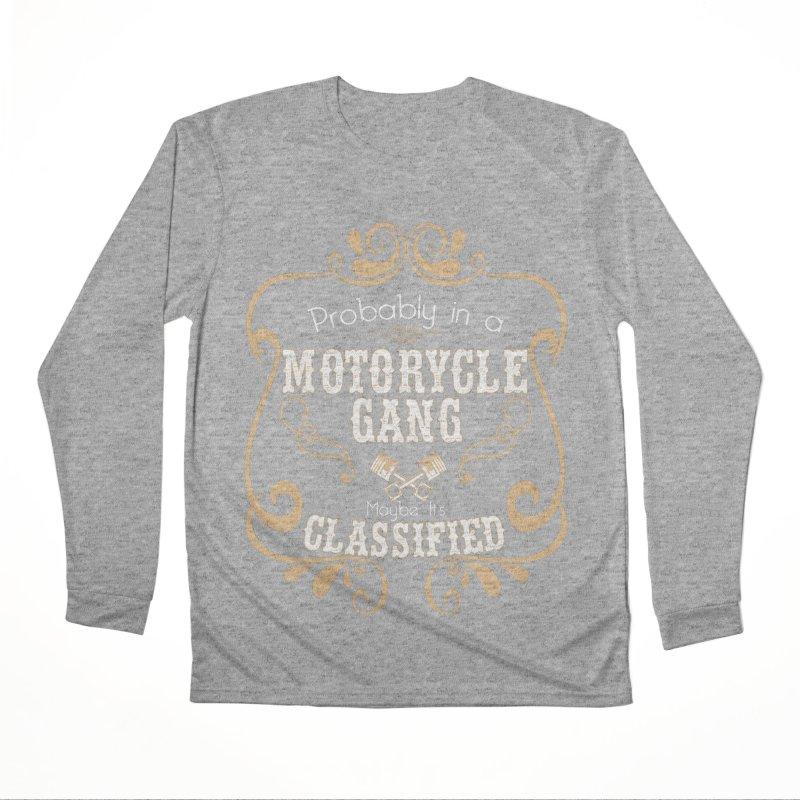 Motorcycle Gang Men's Performance Longsleeve T-Shirt by XXXIII Apparel