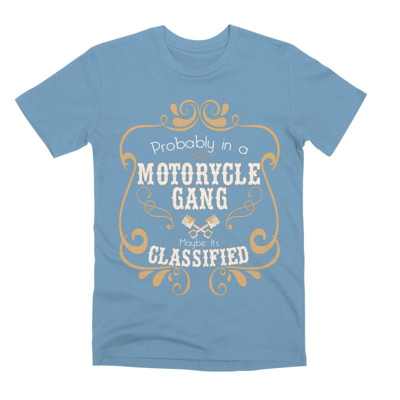 Motorcycle Gang Men's Premium T-Shirt by XXXIII Apparel