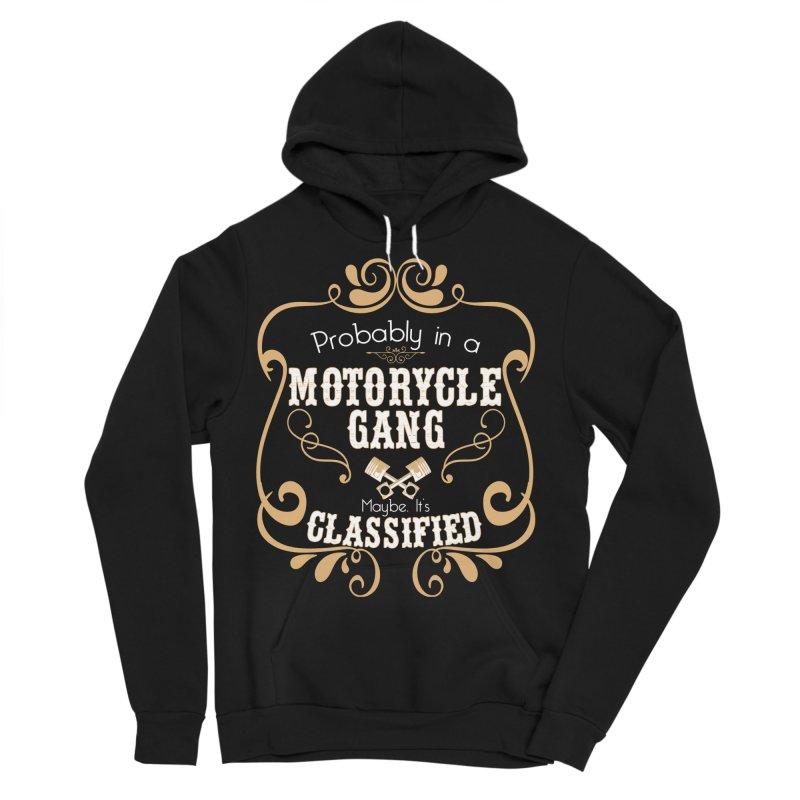 Motorcycle Gang Men's Sponge Fleece Pullover Hoody by XXXIII Apparel