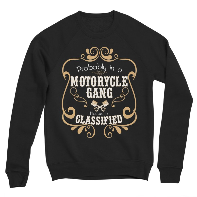 Motorcycle Gang Men's Sponge Fleece Sweatshirt by XXXIII Apparel
