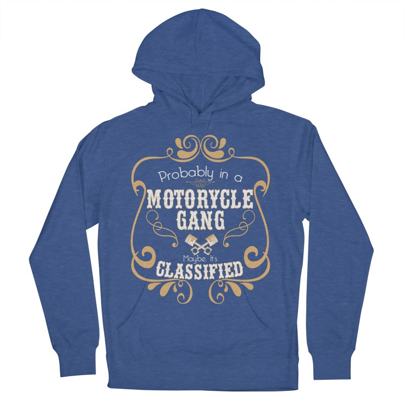 Motorcycle Gang Women's French Terry Pullover Hoody by XXXIII Apparel